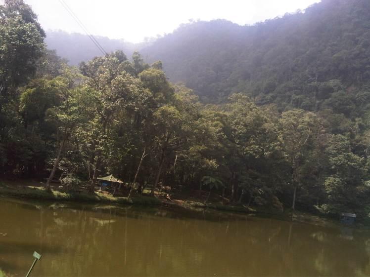 Telaga warna puncak Bogor