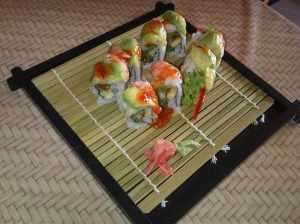 Fusion sushi, Tropical Rolls