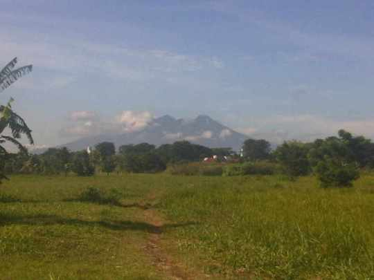 Hasil jepretan dari Lipi science centre Bakossurtanal Cibinong