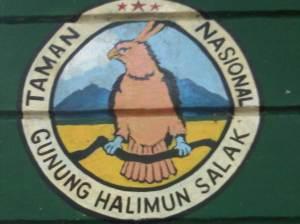 ogo Taman Gunung Halimun salak