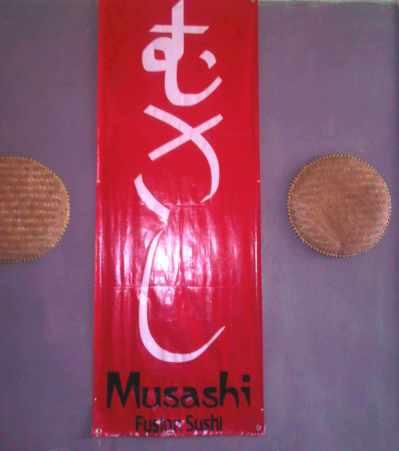 Simbol fusion fusion sushi Musashi