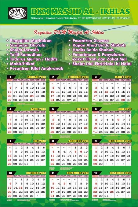 Kalender Tahun 2013