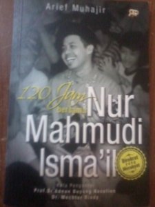 Cover buku Nurmahmudi Ismail