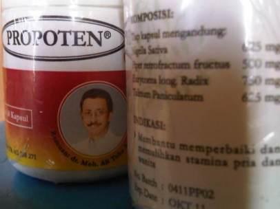 Propoten baik untuk Vitalitas dan kebugaran pria dan wanita